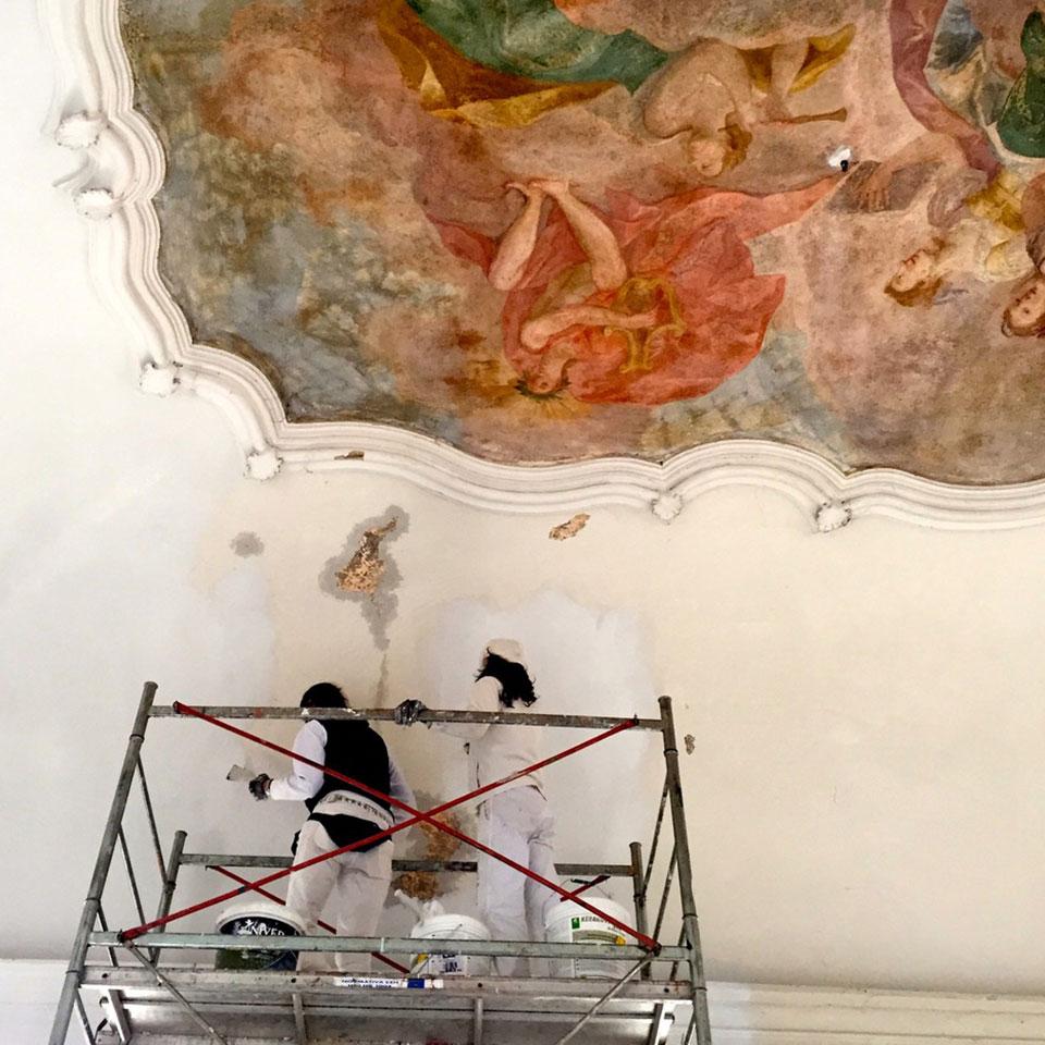 Bianchi Pittori Brescia Restauro pittorico
