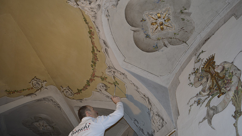 Restauro pittorico Bianchi Pittori Brescia Gallery 1